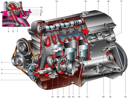 ремонт двигателя lamborghini